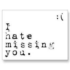 missing you...I just want you here #missingyou - #love #willandprobate www.willandprobate.com