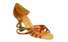7b680826f19a Ballroom Dance Shoes 825 Drizzle by Ray Rose Available in Dark Tan Satin