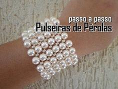 NM Bijoux - Passo a Passo - Pulseira de Cristais com Correntes - YouTube