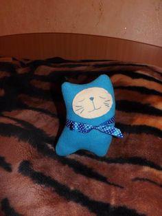 Kitty fleece. The idea of the Internet. Sewed myself.