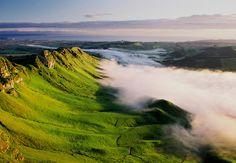 Fog in Te Mata Peak, Hawkes Bay