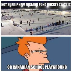 you know you're from new england when......
