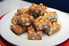 RECIPE: Peanut Butter Marshmallow Squares