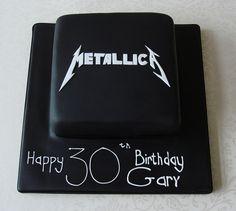 Metallica Cake ...awesome