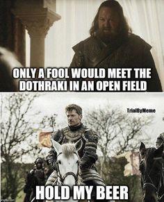 Oh, Jaime. Game of Thrones Season 7