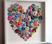 old badges or buttons