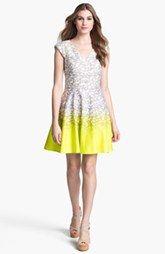 Jessica Simpson Print Fit & Flare Dress