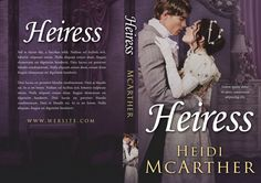 Heiress - Historical Romance Premade Book Cover For Sale @ Beetiful Book Covers #bookcover #premade #premadebookcover #historicalromance #design #beetiful