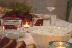 Wasabituorejuusto crayfish party Panna Cotta, Pudding, Ethnic Recipes, Party, Desserts, Food, Kitchens, Tailgate Desserts, Dulce De Leche
