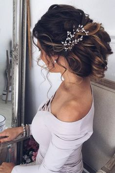 Romantic wedding hair ideas you will love (46)