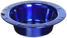 Platinum Pets Stainless Steel Wide Rimmed Bowl, Blue *** Learn more by visiting the image link. (This is an affiliate link and I receive a commission for the sales) Christmas Presents For Cats, Nursing Supplies, Cat Id Tags, Cat Training Pads, Cat Shedding, Cat Fleas, Cat Memorial, Dog Feeding, Blue Cats