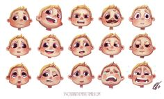 expression sheet 1