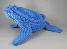 Ballena jorobada - patrón de crochet amigurumi PDF
