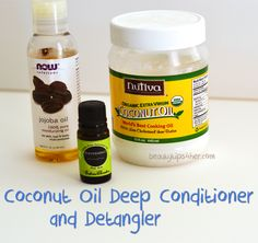 DIY Homemade Deep Conditioner and Detangler | Beauty and MakeUp Tips