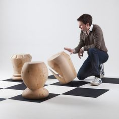 Giorgio Bonaguro : Collection de tabourets