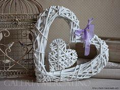 Corazones de papel de periódico reciclado  - Hearts from newsprint recycling