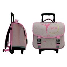 Cartable À Roulettes Léna Rêve D'Etoile Ballerine Suitcase, Backpacks, Rose, Bags, Book Bags, Ballet Flat, Petite Fille, Handbags, Pink