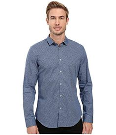 Men's Slim Fit Cross Hatch Print Long Sleeve Button Down Shirt *** Continue to the product at the image link. (This is an affiliate link) Hatch Print, Slim Fit Pants, Calvin Klein Men, Slim Man, Mens Fashion, Fashion Casual, Printed Shirts, Steve Madden, Button Down Shirt