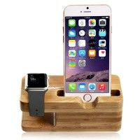 Aoneitem Apple Charging Station,charge Dock Holder for Apple Watch & Docking Station Cradle Bracket for Iphone& Other Phones(charging Station for Iphone&iwatch) Apple Watch Stand, Bamboo Wood Charge Dock Holder for Apple Watch & Docking Station Cradle Bracket for iPod iPhone iPad & Other Phones Read more http://themarketplacespot.com/wearable-technology/aoneitem-apple-charging-stationcharge-dock-holder-for-apple-watch-docking-station-cradle-bracket-for-iphone-other-phonesc