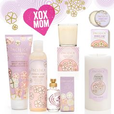Perfumed in a traditional French style, this fresh scent conjures spring with a blend of Lilac, Magnolia Leaves, Heliotrope, Ylang Ylang, Hyacinth and subtle notes of Nectarine. This is truly the best Lilac ever. Offered NOW at 20% off 4/21-4/26 at pacificabeauty.com
