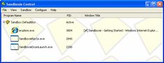 Sandboxie - Download Sandboxie