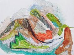 "Saatchi Art Artist Marijah Bac Cam; Drawing, ""Other Lives Under My Skin"" #art"