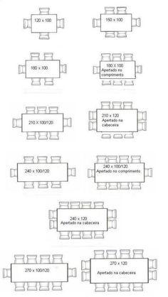 mesas comedor redondas dimensiones - Buscar con Google | Sala y ...