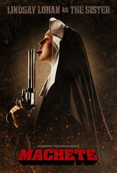 Lindsay Lohan in machete movie