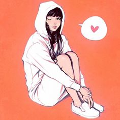 White Hoodie  Cool-down study from photo in Japanese magazine! - See more at: http://iconosquare.com/viewer.php#/detail/1076803417468730334_30752461
