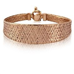 18 Carat Rose Gold Vermeil Bracelet
