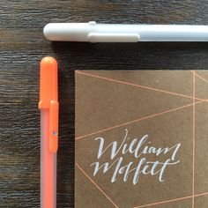 Addressing An Envelope With Jillian Schiavi Of Jilly Ink