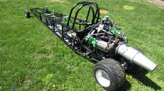 Jet powered junior dragster whines faster than your kid. This is the work of an awesome parent. - Road & Track