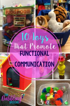 10 toys that promote functional communication