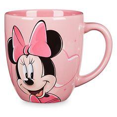 Minnie Mouse Portrait Mug - Disneyland Disney Coffee Mugs, Cute Coffee Mugs, Tea Mugs, Disney Dishes, Disney Cups, Miki Y Mini, Mickey E Minnie Mouse, Geeks, Disney Souvenirs