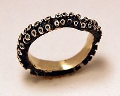 Octopus ring - The Frosted Petticoat
