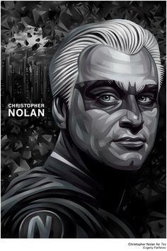 Christopher Nolan by Evgeny Parfenov