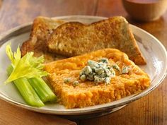 Baked Buffalo Frittata Recipe  #brunch
