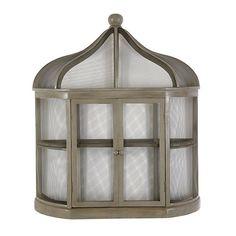 Aviary Birdcage Decorative Shelf - super cute way to display tea set or any other knick-knacks