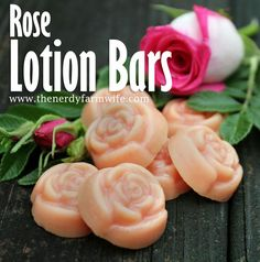 Rose lotion bars recipe requires only three ingredients, yet can be customized in dozens of creative ways.