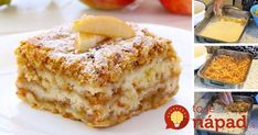 You probably know the delicious apple pie with pudding. This is a recipe for a simple but very tasty apple pie. Quick Easy Desserts, Easy Cookie Recipes, Muffin Recipes, Party Desserts, Cookie Desserts, Chocolate Desserts, Canned Blueberries, Vegan Scones, Gluten Free Flour Mix