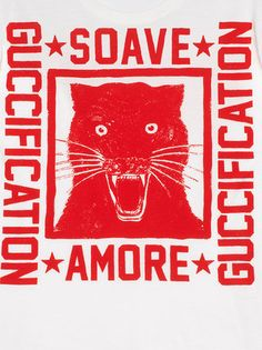 54ed02717 Gucci Camiseta estampa