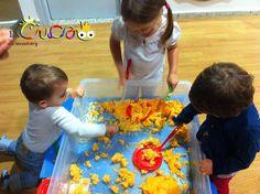 La cuca, espai de criança: Puré de patates