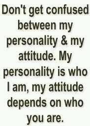 Attitude vs Personality