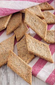 Cracker ai fiocchi di avena e semi senza lievito - Tutte le ricette dalla A alla Z - Cucina Naturale - Ricette, Menu, Diete