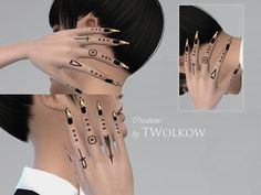 Sims 4 CC's - The Best: Tattoos by TWolkow