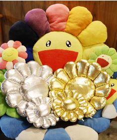 Murakami Flower, Throw Pillows, Future, Collection, Fashion, Moda, Toss Pillows, Future Tense, Cushions
