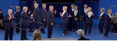 What two body language experts saw at the second presidential debate - Washington Post Oct 10. no caption.