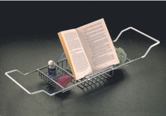 Large Bath Caddy with reading rack #DL