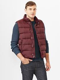 Primaloft® luxe puffer vest $88.00