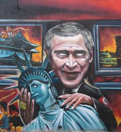 Tags: Statue of Liberty, George W. Statue Of Liberty, Mystery, Joker, Face, Awesome Art, Photography, Fictional Characters, Statue Of Liberty Facts, Photograph